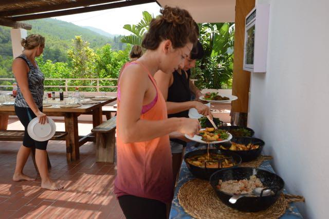 budget yoga retreat spain ibiza