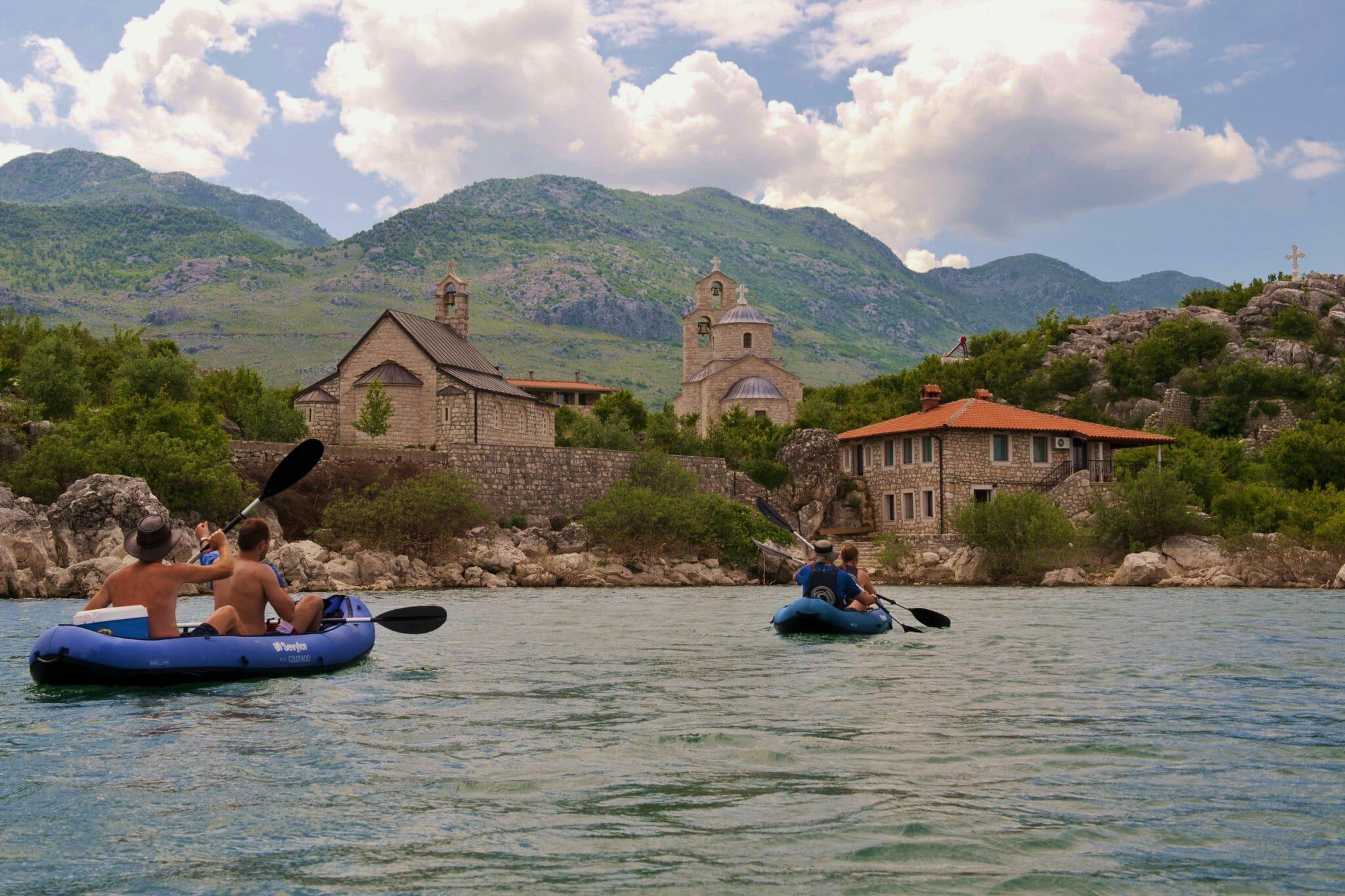 budget yoga retreat montenegro