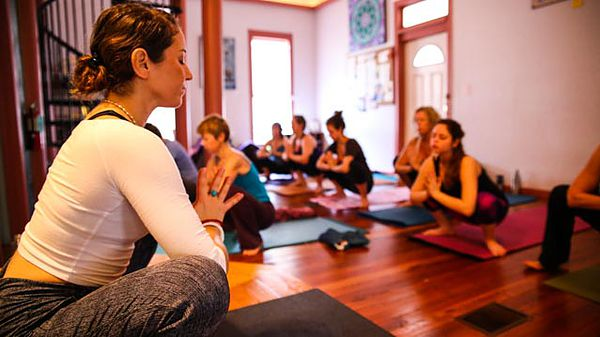 Luxury yoga retreats USA