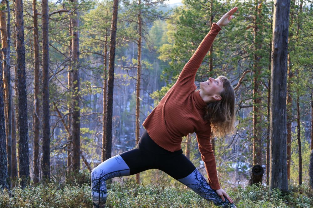 Nature yoga retreat Finland