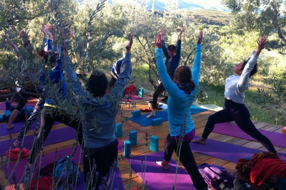 Permaculture yoga retreat Spain