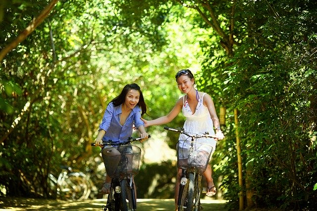 ride a bike on your travels