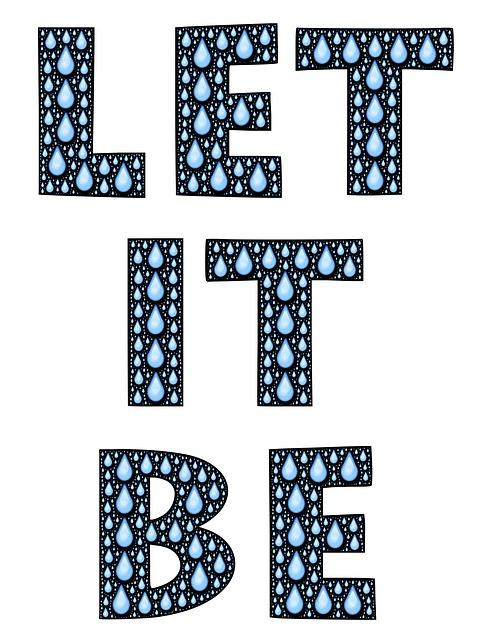 Let it Be yoga playlist