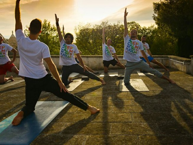 Gay yoga retreat in puglia italy