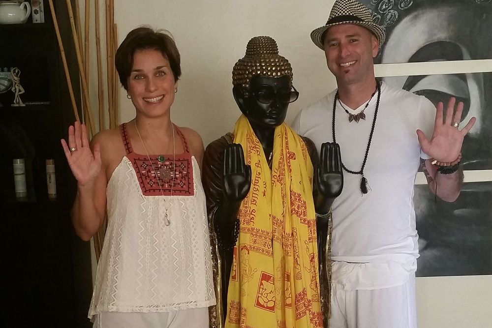 Ira and Valerie detox yoga retreat