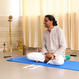 Online yoga retreat with mukta
