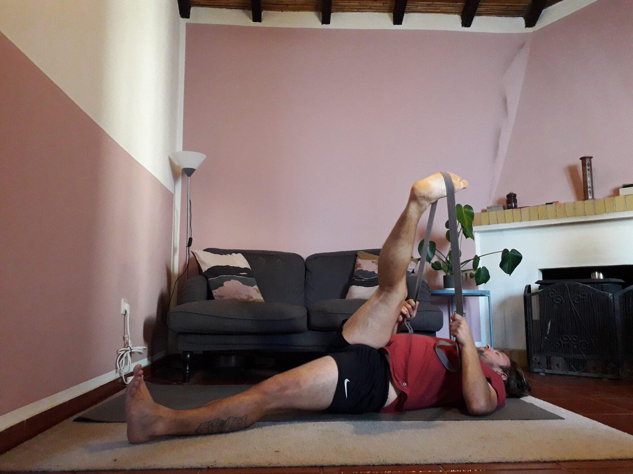 knee yoga
