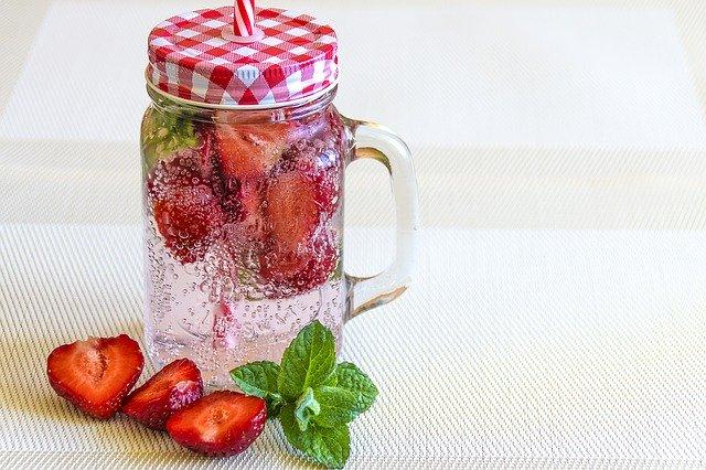 Strawberry Mint Water Kefir Recipe