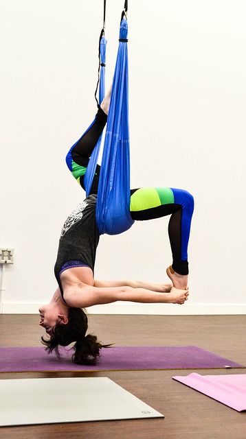 what is aerial yoga