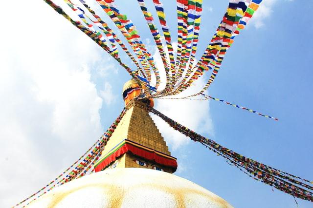 stupa buddhist retreat center