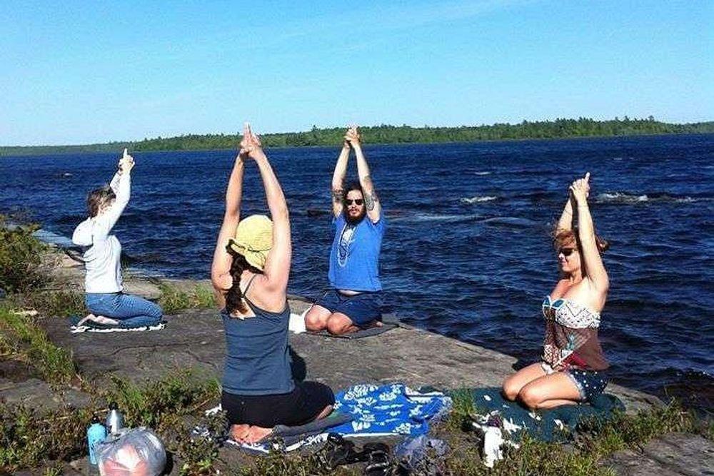 yoga retreat maine island falls