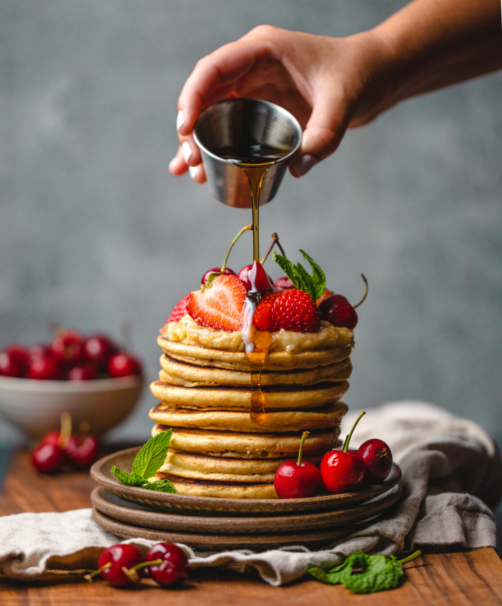 Vegan Pancakes for Yogis