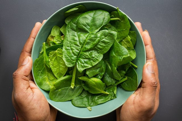 spinach pancakes for yogis