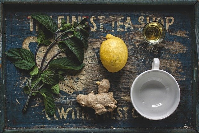 winter tea to warm up