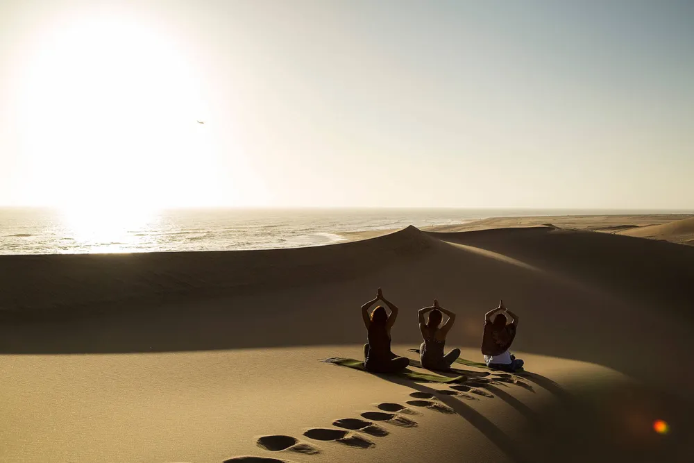 Yoga and Wildlife in Namibia