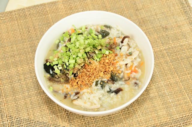 Vegan Carrot Congee