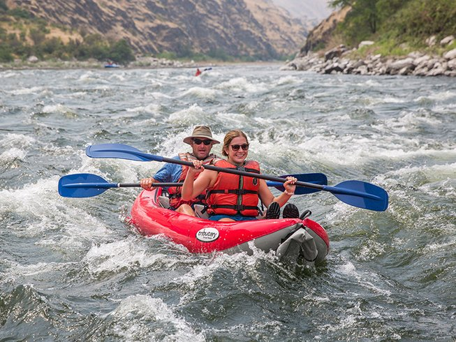 whitewater rafting Idaho